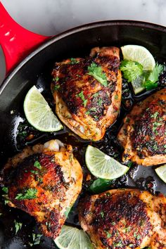 Insanely Easy Skillet Dinners That'll Make You Forget All About Takeout - Easy Dinner Supper Recipes, Rib Recipes, Dinner Recipes For Kids, Veggie Recipes, Mexican Food Recipes, Cooking Recipes, Healthy Recipes, Dinner Ideas, Budget Recipes
