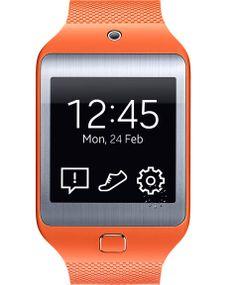 SAMSUNG GEAR 2 NEO Orange Rubber Strap Μοντέλο: 8806086195829 Τιμή:199€ http://www.oroloi.gr/product_info.php?products_id=40711