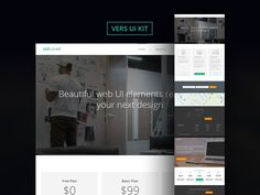 Download Vers UI Kit PSD UI - http://www.vectorarea.com/download-vers-ui-kit-psd-ui