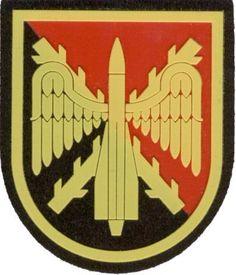 MAAA- Mando de Artillería Antiaérea.  Parche de brazo para el uniforme de representación.