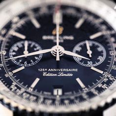 The Breitling Navitimer 125th Anniversary automatic chronograph is a nice representative of bold industrial #design.