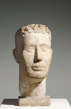 Giacometti | Selbstbildnis | 1925 | Plaster, height 41 cm
