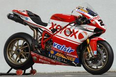 Still reckon this is one of the best looking WSB bikes. Went quite well too.
