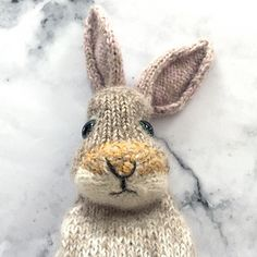 When it's the first day of a month with the letter 'R' in it we've (my family) have always shouted 'RABBITS' - to this day I know not why and whether anyone else says it too? (Let me know friends!) But here's my #freebeefridayknits homage to a family curiosity… and a jolly nudge to Spring I say!