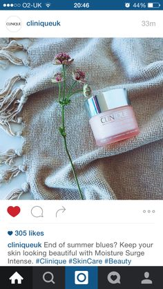 There area few products that I can't live without - well I could but I would be very grumpy. One of those miracle products is the utterly fantastic Clinique Moisture Surge. This pink gel is availa...
