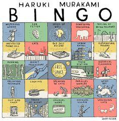 haruki murakami - bingo