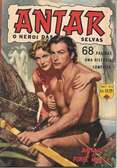 Lex Barker and Virginia Huston Action Movie Poster, Movie Poster Art, Action Movies, Nacional Kid, Tarzan Movie, Caricature, Jungle Jim's, Film Le, Roman