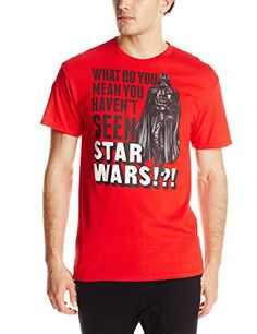 57b07efbf Star Wars Mens Seen TShirt Red XLarge * Click on the image for additional  details. (This is an affiliate link)