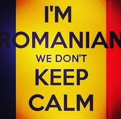 "DIY beauty & Face masks : Illustration Description ""I'm romanian we don't keep calm"" — I am not Romanian, but I can relate. lol -Read More – Romanian Gypsy, Romanian Girls, Diy Beauty Face Mask, Diy Face Mask, Face Masks, Romanian Language, Jokes And Riddles, Bucharest Romania, English Jokes"