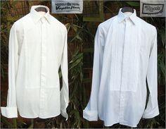 1970s Men's Dress Shirts  Black Tie  by Petticoatjanevintage, £9.00
