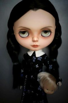 Wednesday Addams #blythe #customblythe #ooakblythe