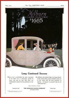 1917 The Milburm Light Electric $1685 f.o.b Toledo, Ohio   Flickr - Photo Sharing!