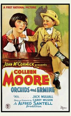 Colleen Moore in Orchids and Ermine 1927 (with Mickey Rooney)