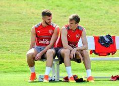 Calum Chambers and Rob Holding #ArsenalUSA #AFC #COYG #Gooners #Gunners