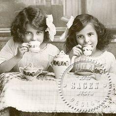 Sagen Vintage  Tea Time 55