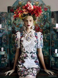 Frida Kahlo de Rivera Inspired Hair and Fashion