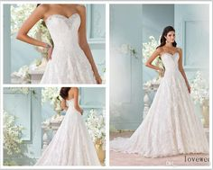 Custom Made 2016 Sweetheart Hand Beaded Alencon Lace Appliques And Tulle Over Satin A Line Gown Clytie 116211 Wedding Dresses Best Price Wedding Dresses Bridal Gowns Wedding Dresses From Lovewed, $103.67  Dhgate.Com
