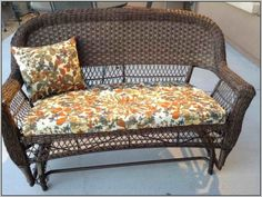 Awesome Floral Patterned Cushions Sets Combined Brown Stained Woven Outdoor Love Seat With Outdoor Replacement Chair Cushions And Outdoor Patio Chair Cushions Outdoor Couch Cushions, Outdoor Cushion Slipcovers, Outdoor Cushion Covers, Patio Furniture Cushions, Patio Furniture Covers, Patio Chairs, Outdoor Chairs, Garden Cushions, Outdoor Pillow