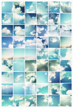Sol LeWitt: Clouds, Fifty-four chromogenic prints mounted on board, 31 x 22 (mount). Sequence Photography, A Level Photography, Photography Series, Photography Projects, Creative Photography, Landscape Photography, Street Photography, Gerard Richter, A Level Art