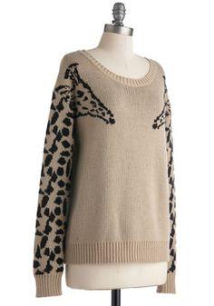 Eye to Eye-catching Sweater, #ModCloth