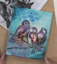 Dina Wakley, our featured artist of the month, shares a multitude of mixed-media techniques and tips in all of her work for creating expressive art. Here are a few of our favorites.