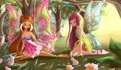 Nature Rest.Flora and Fauna by fantazyme.deviantart.com #WinxClub
