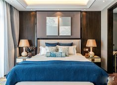 44 Modern Luxury Bedroom Inspirations - About-Ruth Modern Luxury Bedroom, Mid Century Modern Living Room, Contemporary Bedroom, Luxurious Bedrooms, Bedroom Sitting Room, Dream Bedroom, Master Bedroom, Hotel Room Design, Luxury Apartments