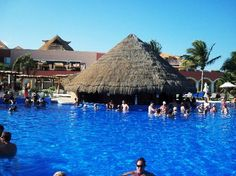 Ocean Coral & Turquesa: swim-up bar Spent 7 nights at this place.  Great staff. Tons of Tequilla!!
