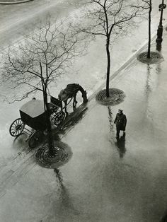 Boulevard Poissoniére, 1943 by Roger Parry