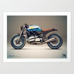 Moto 32 Art Print by Holographic Hammer - $22.88