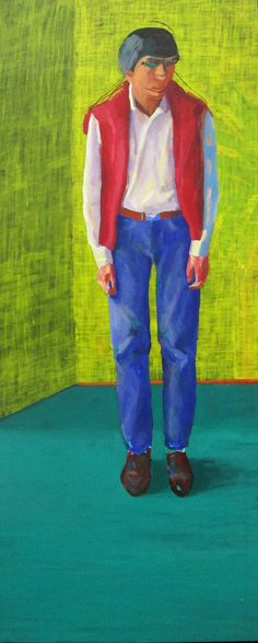 David Hockney, Portrait of Yves Marie Hervé, 1980