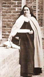 """Saint Therese of the Child Jesus and the Holy Face  (1873-1897)  Carmelite Nun  Lisieux, France   """"The Little Flower"""""""