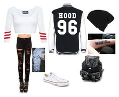 School by jordanfashion14 on Polyvore featuring polyvore, fashion, style, Jeremy Scott, Converse and Vans