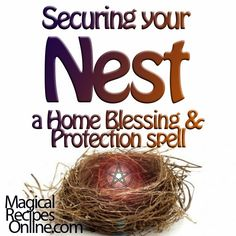 *Magical Recipes Online* Your free online Magazine on Witchcraft, Occultism & Ancient Recipes: Ultimate Home Blessing & Protection Spell: Securin...