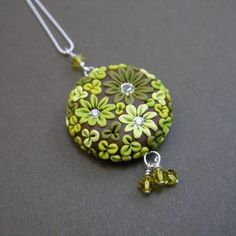 polymer clay jewelry | Polymer Clay Sculpted Jewelry | Flickr - Photo Sharing!