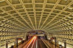 Washington subway, USA