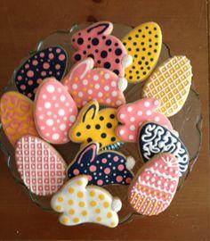 Easter cookies 2013