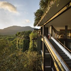 Kandalama Hotel, Dambulla, Sri Lanka, by Tom Roe is an incredible architectural photograph on display in London now.