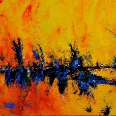 Abstract Art Painting  by Sabina D'Antonio