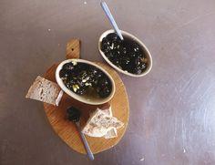 petiscosemiminhos: Azeitonas aromáticas/ Fragrant black olives