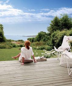 Den nye terrassetrenden: Vi innreder uterommet som om det var stua - Byggmakker+