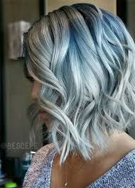 Image result for gray hair with lowlights