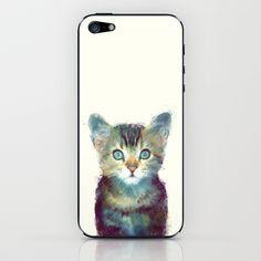 Cat // Aware iPhone & iPod Skin by Amy Hamilton - $15.00