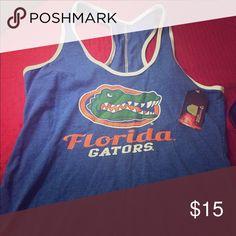 Gators tank top Super cute brand new with tags Florida Gators top. Tops Tank Tops