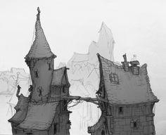 ArtStation - Random Sketches III, Friedemann Allmenroeder