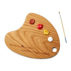 Look what I found at UncommonGoods: Cherry Wood Painter's Palette for $54.00