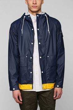Native Youth Contrast Trim Fisherman Jacket in Blue for Men (NAVY) | Lyst