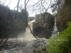 Highforce waterfall - yorkshire
