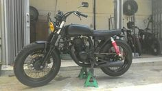 Honda Megapro 150cc dgn twinport, build by damar custom garage