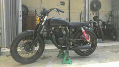 Honda Megapro 150cc dgn twinport, build by damar custom garage
